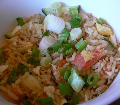 thai fried rice-finished