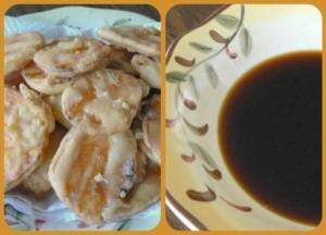 Sweet Potato Tempura and Basic Tempura Dipping Sauce