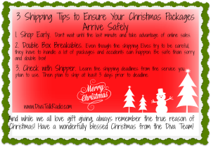 Infographic:  3 Shipping Tips to Ensure Your Christmas Packages Arrive Safely