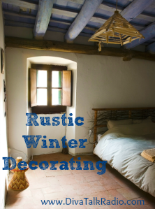 Rustic Winter Decorating