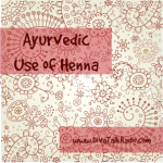 ayurvedic use of henna