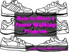how to start power walking program