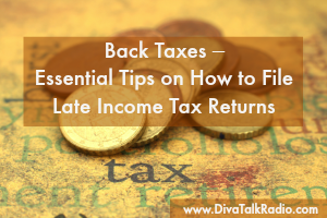 Back Taxes – Essential Tips on How to File Late Income Tax Returns