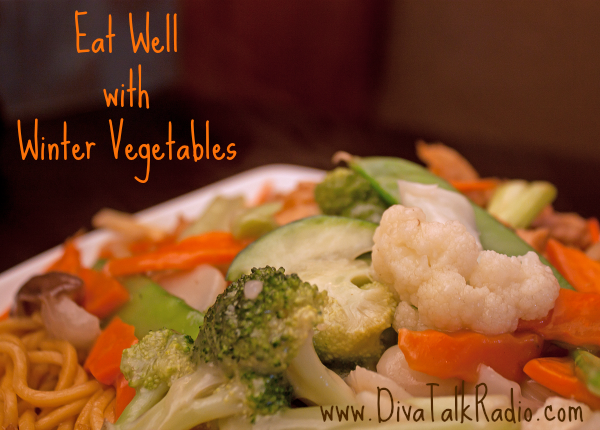 eat well winter vegetables