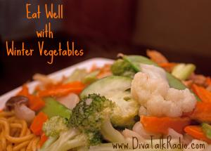 eat well winter vegetables