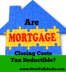 Are Mortgage Closing Costs Tax Deductible?
