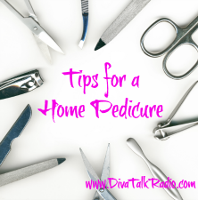tips for home pedicure