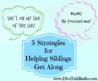 five strategies helping siblings get along