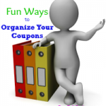 fun ways organize coupons