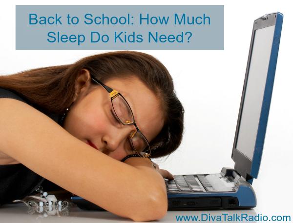 back to school how much sleep do kids need
