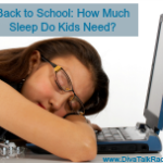 back to school how much sleep do kids need