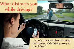 What Distracts You When Driving?