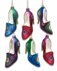glass-high-heel-ornaments